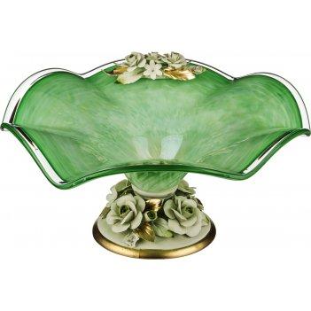 Декоративная чаша диаметр=45 см.высота=21 см.(кор=1шт.)