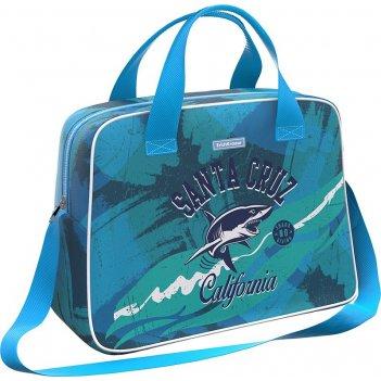 Сумка 44693 для спорта и путешествий erichkrause 21 l california голубая