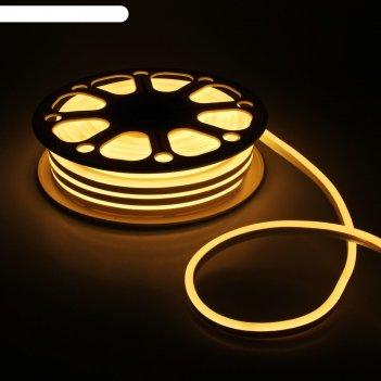 Гибкий неон 8 х 16 мм, 25 метров, led-120-smd2835, 220 v, теплый белый