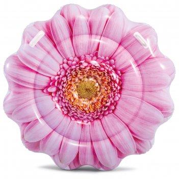 Матрас для плавания «розовая маргаритка», 142 х 142 см, 58787eu intex