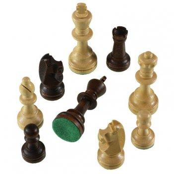"""Шахматные фигуры """"стаунтон 6"""" в полиэтиленовой упаковке, madon"""