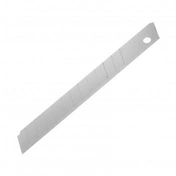 Лезвия для ножей tundra basic, сегментированные, 9х0.4 мм, 10 шт.