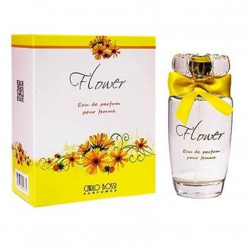 Парфюмированная вода женская carlo bossi flower yellow, 100 мл