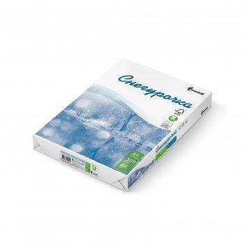 Бумага а4, 500 листов снегурочка 80г/м2 146%, класс с