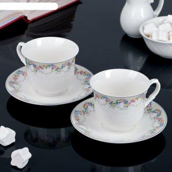 чайные наборы из костяного фарфора