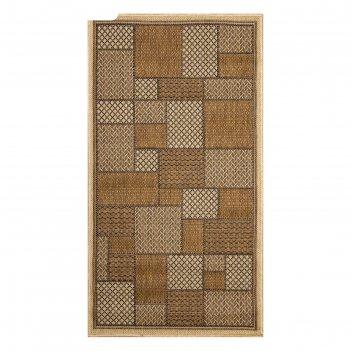Ковёр прямоугольный декора (сизаль), 50х80 см
