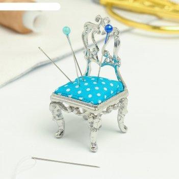 Игольница «стульчик», под сeрeбро