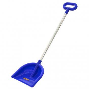 39798 лопата wader №19, алюминиевый черенок с ручкой, синий
