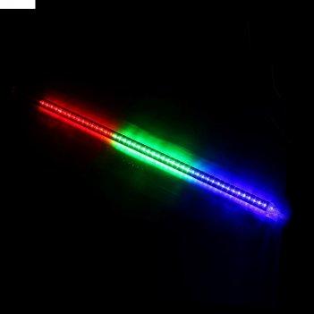Светодиодная сосулька тающая, 0,8 м. d=2 см. led-48-220v мульти