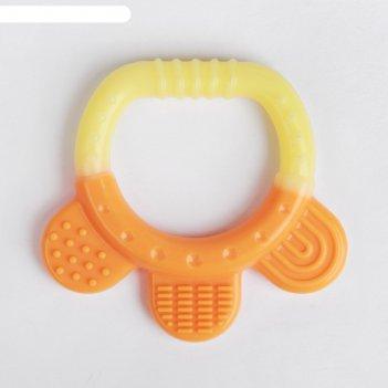Прорезыватель силиконовый «карапуз»