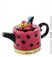 Cms-01/22 заварочный чайник туфельки (pavone)