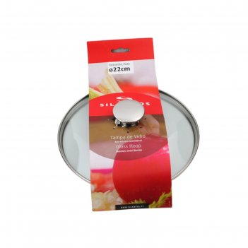 Крышка для кастрюли, стекло, 22 см