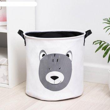 Корзина универсальная «медвежонок», 35x40 см