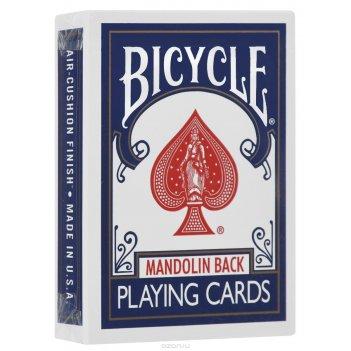 Карты bicycle 809 mandolin back (синие) - uspcc