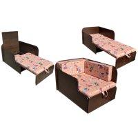 Диван-кровать механизм канапе  непал-неваляшка венге