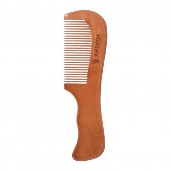 Расчёска-гребень vortex, деревянная с ручкой