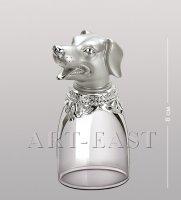 Win-211 хот-шот мал. сереб. символ года - собака