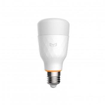 Умная лампочка xiaomi yeelight smart led bulb 1s (white), 8,5вт, е27, 2700