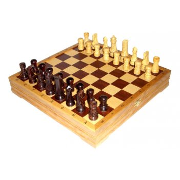 Rta-5411 подарочные шахматы набор - шахматы + шашки.
