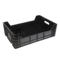 Ящик для тюльпанов 600 х 400 х 185 см, чёрный