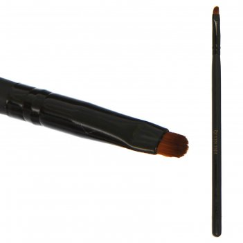 Кисть для макияжа д/ненес теней 16,5см №05/04 скруглен. короткий ворс pvc