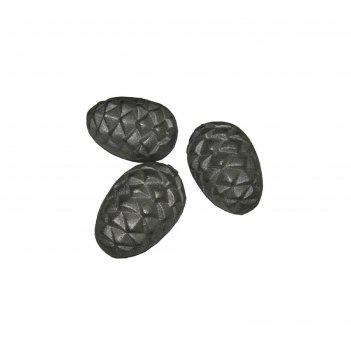 Камень для банной печи чугунный кедровая шишка кчо-1 рубцовск