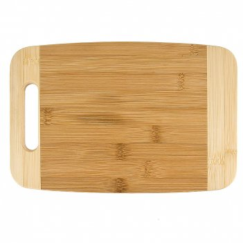 Доска разделочная 27,5*17,5*1,5см. (бамбук обработанный) (упаковочная плен