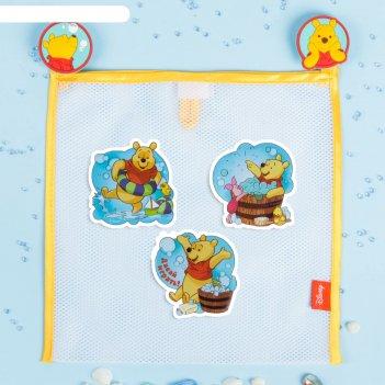 Сетка для хранения игрушек давай играть! медвежонок винни и его друзья +на