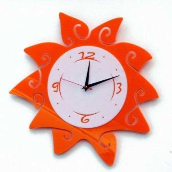 Кухонные часы солнце cl184  40х40см
