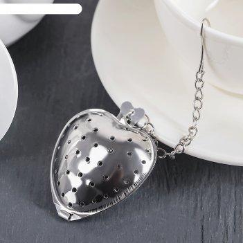 Ситечко для чая сердце