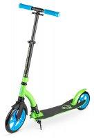 Самокат с большими колесами zycom easy ride 230 черно-зеленый