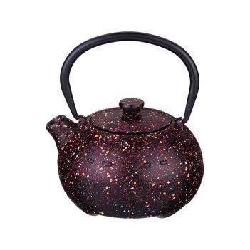Заварочный чайник чугунный с эмалированным покрытием внутри 350 мл.