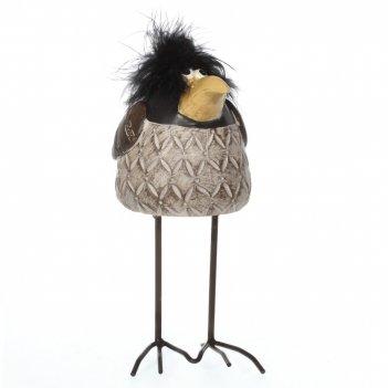 Фигурка декоративная ворона, l8 w10 h18,5 см
