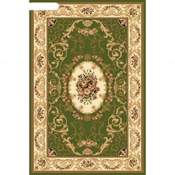 Ковёр хит-сет пп olympos d066, 2 x 4 м, прямоугольный, green