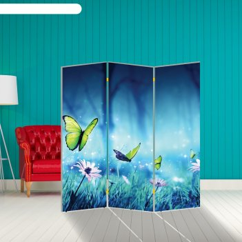 Ширма бабочка. декор 8, 160 x 150 см