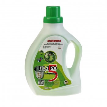Жидкость для биотуалета, туалетных вёдер, 1 л, sannifresh, концентрат