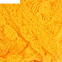 Пряжа adelia naomi 100% акрил 24м/100гр (18 жёлтый)
