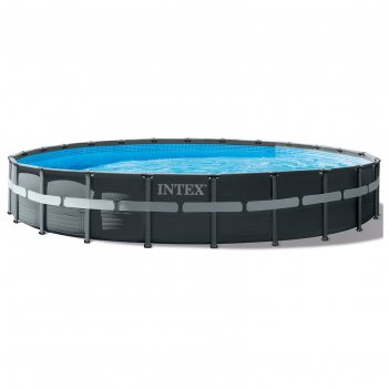 Бассейн каркасный ultra xtr frame, 732 х 132 см, песчаный фильтр-насос, ле
