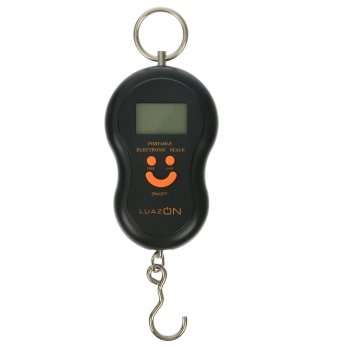 Безмен luazon lv-401, электронный, до 50 кг, чёрный