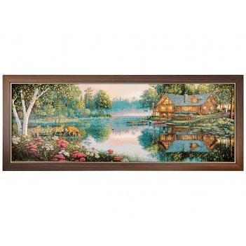 Гобеленовая картина сладкий сон 99х39см.