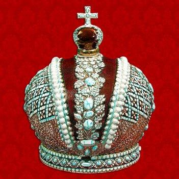 Подарочный штоф корона российской империи 2,5 л шф-006с