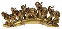 Фигурка декоративная слоны 38*5*17см