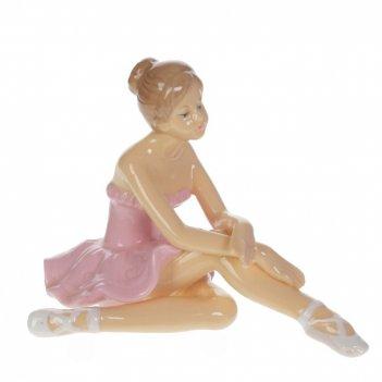 Фигурка декоративная балерина, l14 w9 h10 см