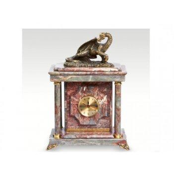 Часы-сейф из мраморадракон(арт.с-031)
