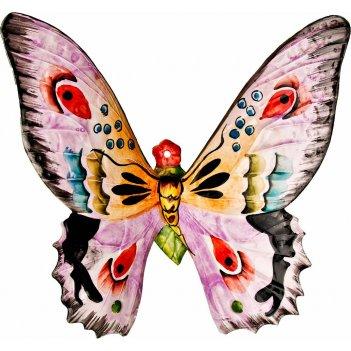 Панно настенное бабочка 29*30 см.