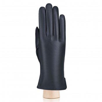 Перчатки женские, размер 8, цвет тёмно-синий