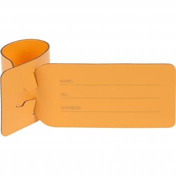 Багажная бирка salamander, оранжевая
