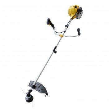 Триммер huter ggt-2900s, бензиновый, 2900 вт, разборный вал, скос 255 мм,
