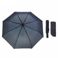 Зонт полуавтомат, r=53см, цвет синий