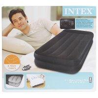 Кровать надувная rest bed 99х191х47 см, насос 220v